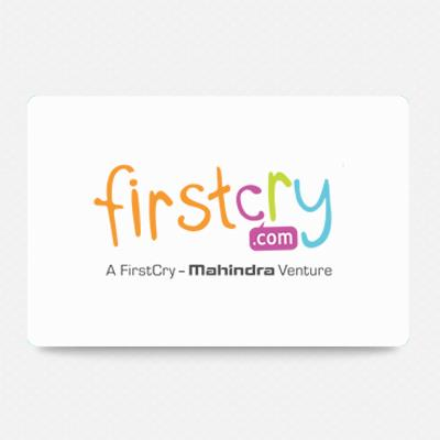 First Cry Gift Card