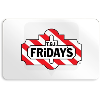 TGI FRiDAYS E Gift Card