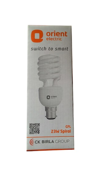 Orient-23-Watt-Spiral-CFL-Bulb-(White,-Pack-of-4)