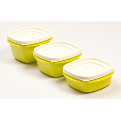 Cutting Edge Snap Tight Air Tight Storage Containers 3 Pcs Lite (Light Green) (1435 Ml)