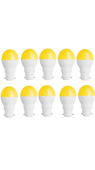Rashmi-0.5W-Led-Candel-Night-White-Lamp-Round-(Yellow,-Pack-of-10)