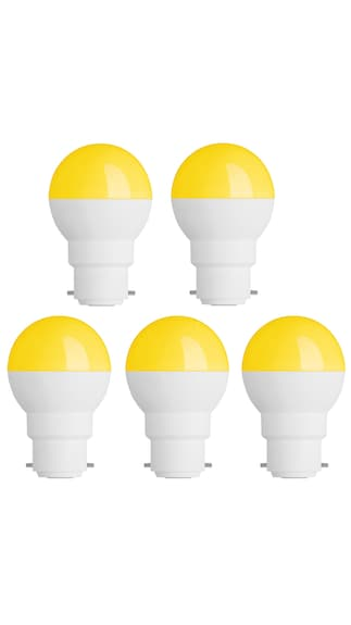 0.5W-Led-Candel-Night-White-Lamp-Round-(Yellow,-Pack-of-5)