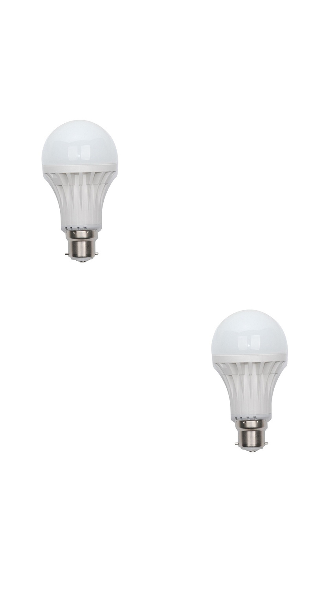 101 Lighting 10W White LED Bulb (Pack Of 2)