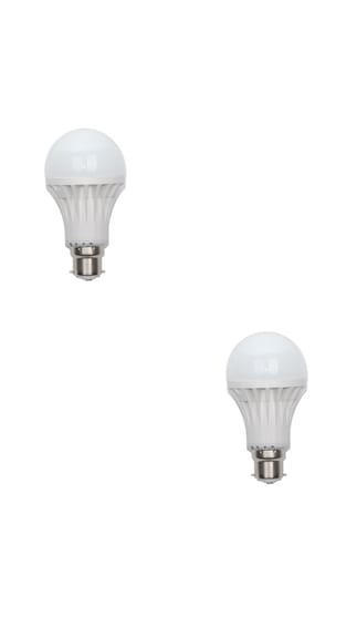7W-White-LED-Bulb-(Pack-Of-2)-