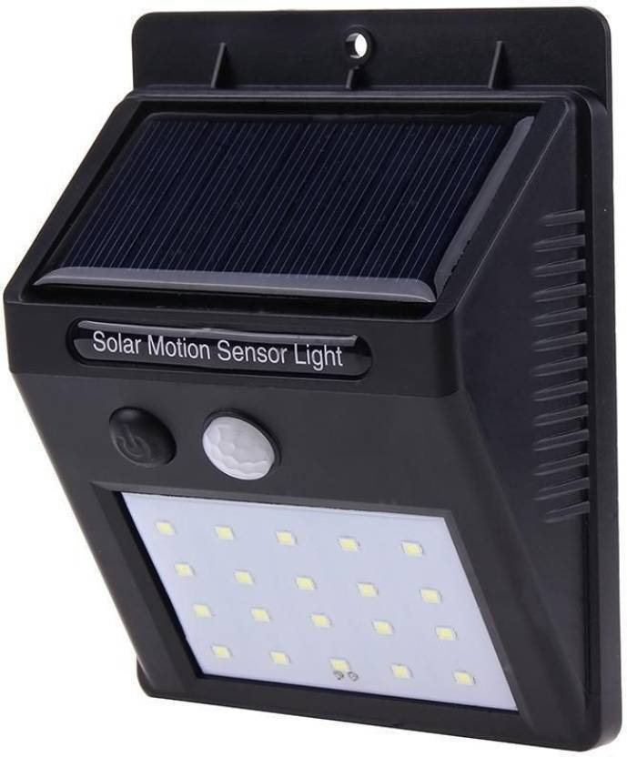 20 LED Bright Outdoor Security Lights with Motion Sensor Wireless Waterproof Night Lighting Solar Powered Spotlight for Garden