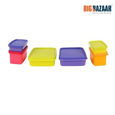 Amson Elite Container (Set of 6) (Assorted)