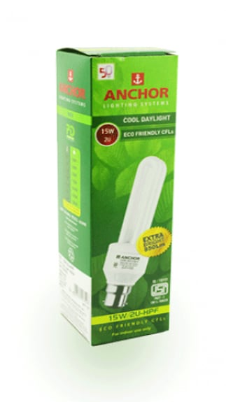 Anchor-15-W-B22-CFL-Bulb-(Cool-Daylight,-Pack-of-2)