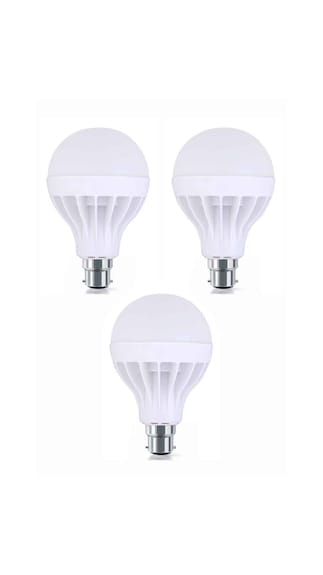 15W-Plastic-White-LED-Bulb-(Pack-Of-3)