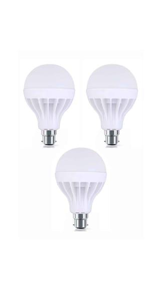 15W-Plastic-White-LED-Bulb-(Pack-Of-3)