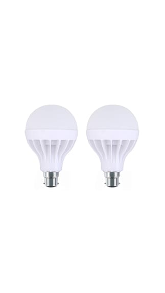 15W-Plastic-White-LED-Bulb-(Pack-Of-2)