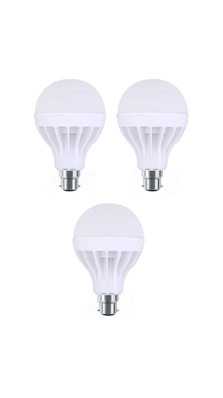 5W-Plastic-White-LED-Bulb-(Pack-Of-3)