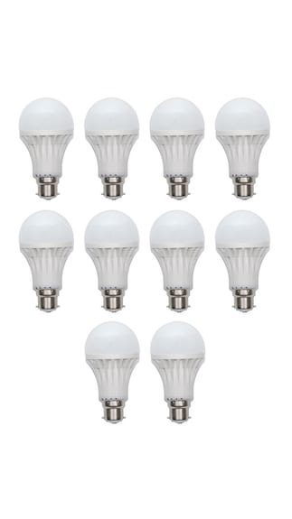 AV-12W-(Pack-of-5)-&-15W-(Pack-of-5)-White-Led-Bulb