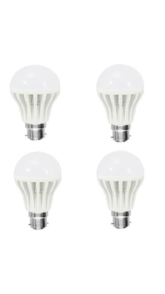 5W-PVC-White-LED-Bulb-(Pack-Of-4)-