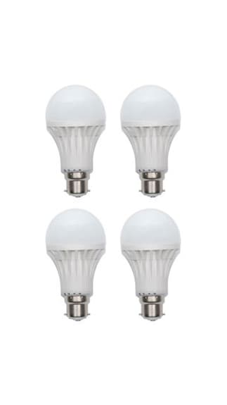 3W-Plastic-White-LED-Bulb-(Pack-Of-4)-