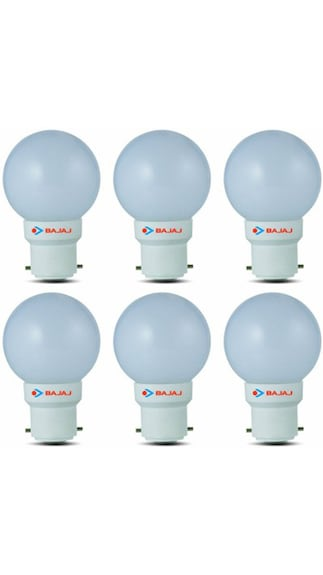 0.5W-White-LED-Bulb(Pack-Of-6)-
