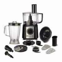 Bajaj Majesty FX9 700 W Food Processor (Black & Silver)