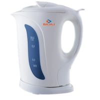 Bajaj Non-Strix 1 L Cordless Electric Kettle (White)