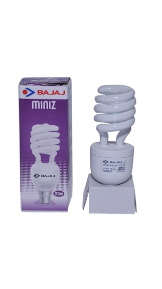 Retrofit Miniz T3 Spiral 23 Watt CFL Bulb (Pack of 2,Cool Day Light)