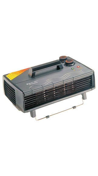 Bajaj RX8 Fan Room Heater (Black)