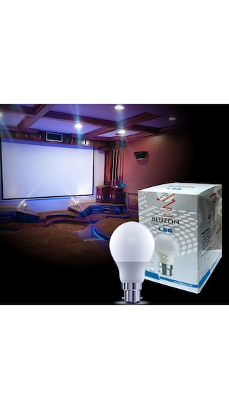 5-W-&-12-W-B22-LED-Bulb-(White,-Pack-of-4)