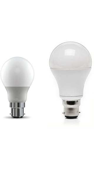 5W and 7W LED Bulb (White, Pack of 4)
