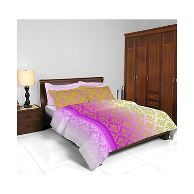Bombay Dyeing Coral Vine (AW14) Pink Double Bedsheet