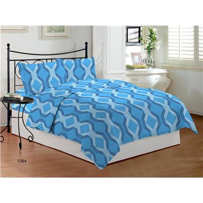 Bombay Dyeing Festiva Cotton Double Bed Sheet With 2 Pillow Covers