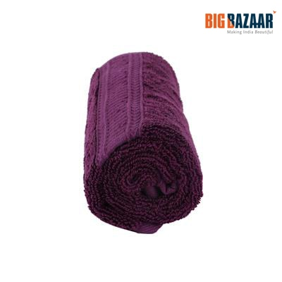 Cannon Bamboo Cotton Hand Towel (Purple)