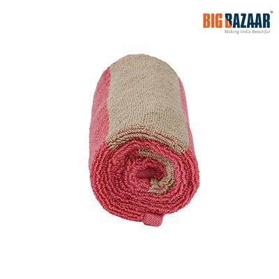 Cannon Two Tone Hand Towel (Pink)