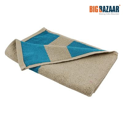 Cannon Two Tone Cotton Hand Towel (Coffee)
