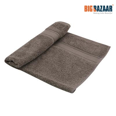 Cannon Zero Twist Cotton Hand Towel Dark Grey