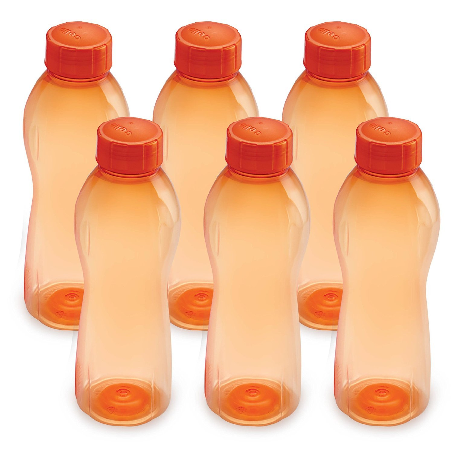 Cello Orange Stylist Water Bottle