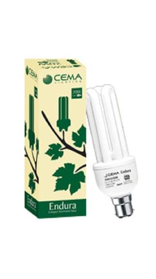 Endura-CFL--9W-CFL-Bulb-(White)