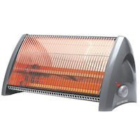 Clearline Quartz QH2400 Radiant Room Heater (Grey)