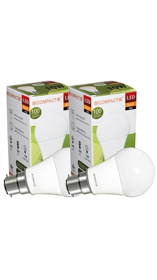 10-W-B22-LED-Bulb-(Cool-White,-Pack-of-2)