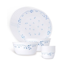 Corelle Livingware Provincial Blue 14 Pcs Dinner Set