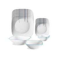 Corelle Livingware Rain Drops 21 Pcs Dinner Set