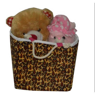 Creative Textiles PU Multicolor Laundry/Toy Basket