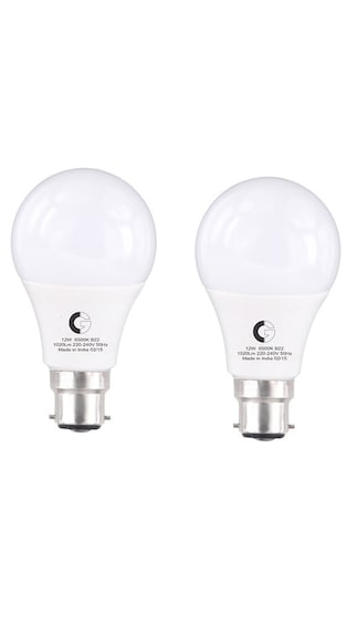 Greaves-12W-1020L-Cool-Day-LED-Bulb-(Pack-Of-2)-