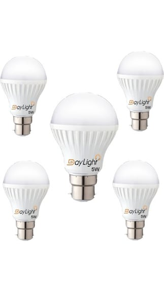Technology-5-W-LED-Bulb-(White,-Pack-of-5)-