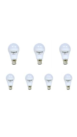 Donex-7W-Aluminium-Body-White-LED-Bulb-(Pack-of-7)