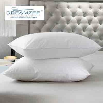 Dreamzee Luxurious White Pillow - 2 Pcs