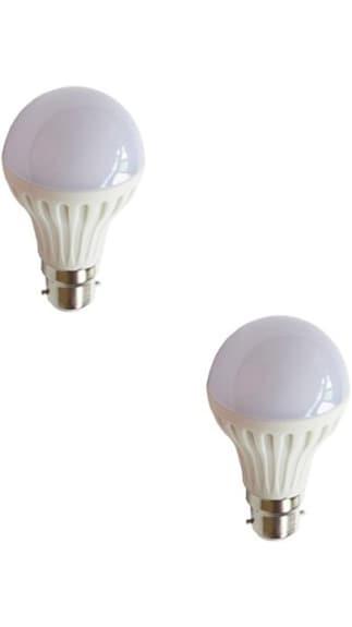 3W LED Bulbs (White, Pack of 2)