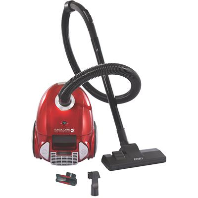 Eureka Forbes Trendy Zip+ 2-Litre Canister Vacuum Cleaner (Red & Silver)