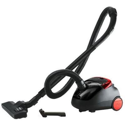 Eureka Forbes Trendy Zip Dry Vacuum Cleaner (Black & Red)