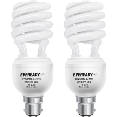 Eveready Pack Of 2 CFL - 27W