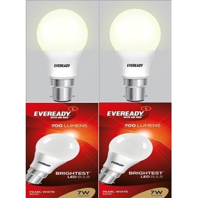 Eveready 7 Watt Pearl White Light Pack Of 2 Bulb