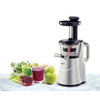 Eveready Slow LIIS 150 W Juicer (Silver/1 Jar)