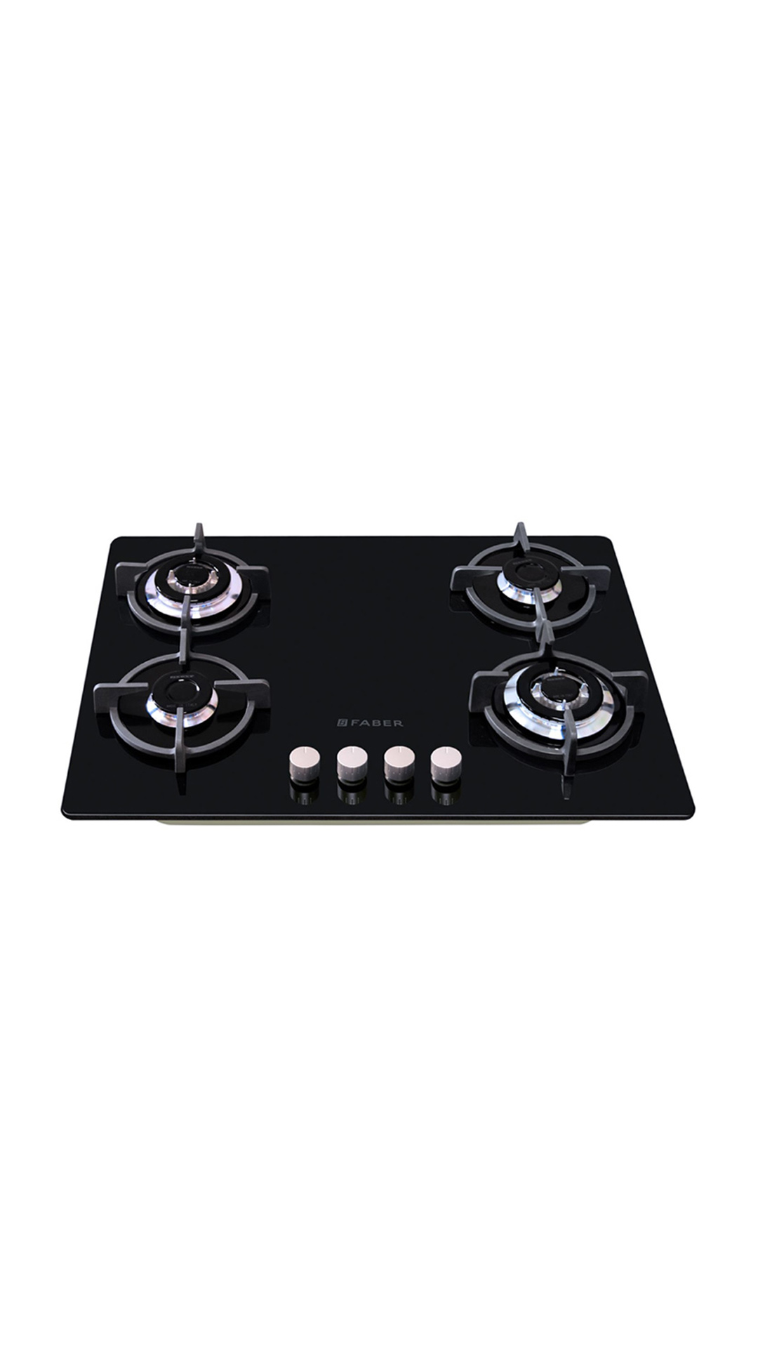 GB 40 MT CIG AI 4 Burner Built In Hob Gas Cooktop