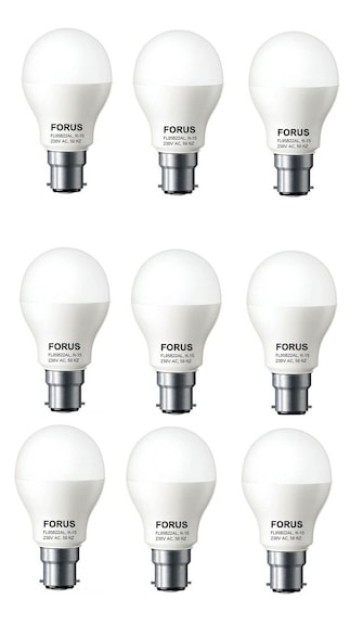 5W-B22D-LED-Bulb-(White,-Pack-Of-9)